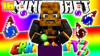 Minecraft CRAZY CRAFT 3.0 - WITCHERY Mod #16
