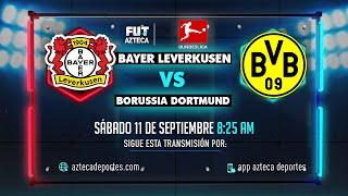 Bayer Leverkusen vs Borussia Dortmund EN VIVO | Jornada 4 | #BundesligaXAzteca #Live