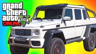 GTA 5 DLC Hipster Update - NEW Mercedes Benz 3 Axle Dubsta in GTA V Online ! (GTA 5 Online Gameplay)