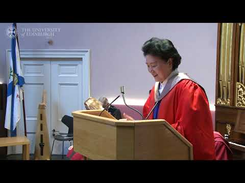 Honorary degree for China
