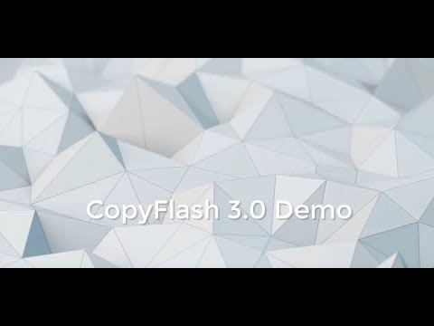 Clarion Template Demo CopyFlash Clarion Templates - YouTube