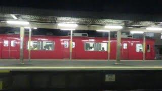 名鉄6000系 6014F (三河ワンマン編成 普通東岡崎行き) 新安城発車