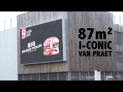 Big Play - Digital impact in the heart of Brussels with 3 I-CONIC screens
