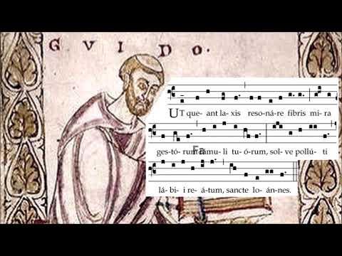 Guy d'Arezzo et l'hymne à Saint Jean