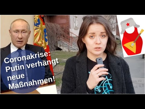 Coronakrise: Putin verhängt neue Maßnahmen