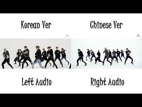 EXO - CALL ME BABY (Korean Chinese MV Comparison)
