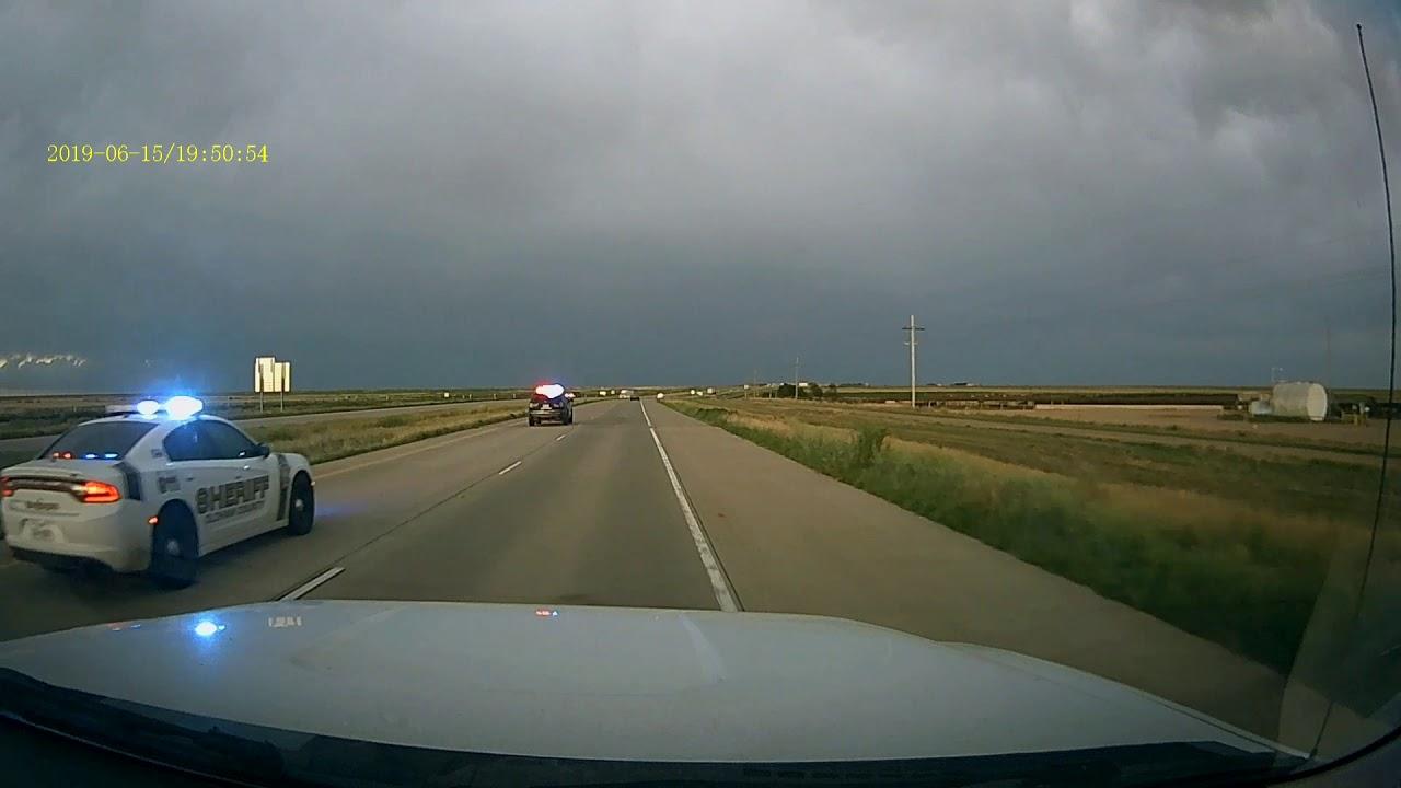 2019-06-15 Car Chase I-40 West of Amarillo (full)
