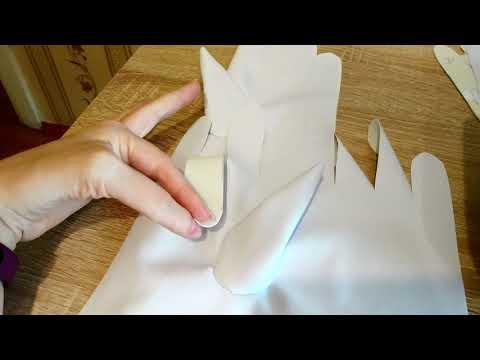 Как сшить кожаные перчатки своими руками выкройки