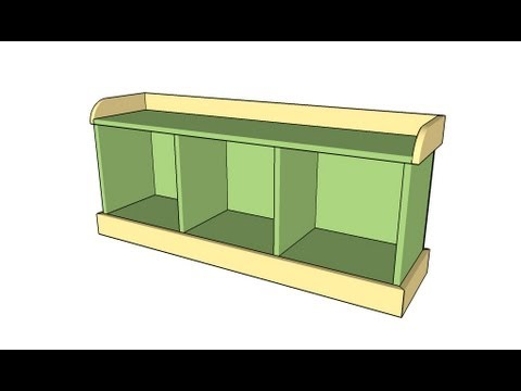 Entryway Bench Plans Youtube