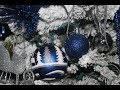 Blue, Silver and White Christmas Tree 2017