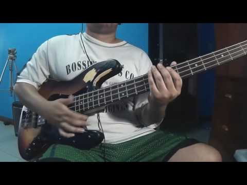 Stagg Jazz Bass with Musicman Pickup in the middle