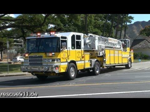 Ladder 7 Honolulu Fire Department