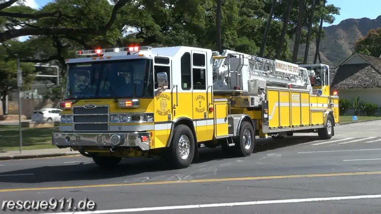 Ladder 7 Honolulu Fire Department Youtube
