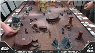 Star Wars: Legion Battle Report - At General Games with Scott