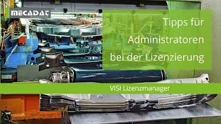 VISI - Supportvideo ''Tipps für Administratoren bei der CLS Lizensierung''