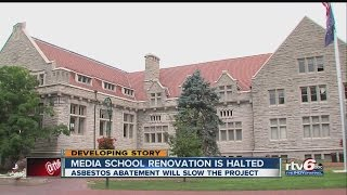 Asbestos concerns halt renovation of IU building