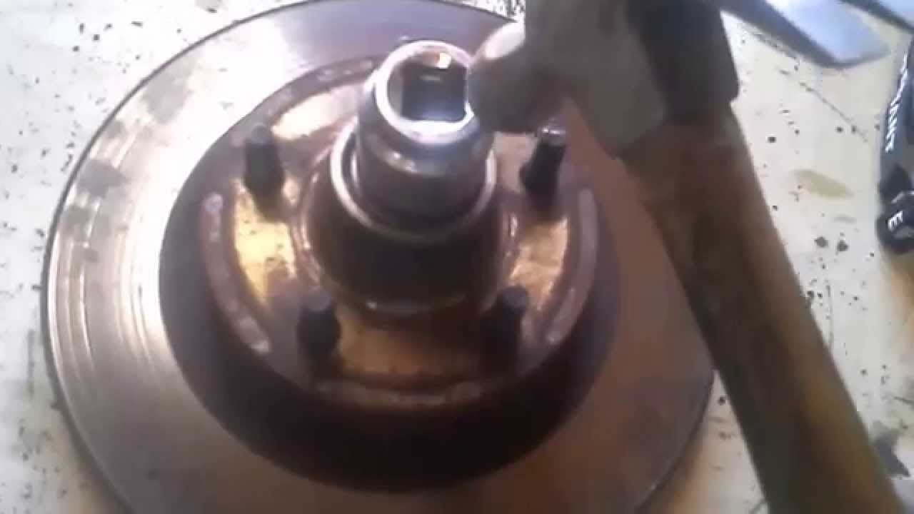 How To Replace Wheel Bearings On A Ford Ranger 01 2wd 3 0