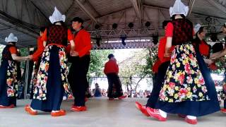 folk dances in the Netherlands Expo flora