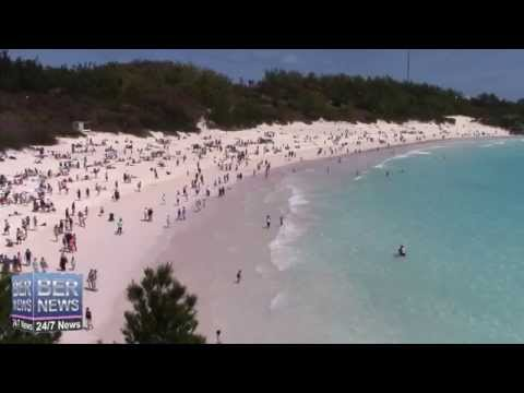 Good Friday KiteFest At Horseshoe Bay Beach Bermuda, April 3 2015