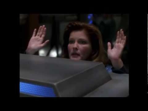 Janeway making fun (st voyager)