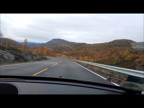 Norway national turist road Hardangervidda