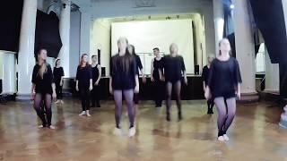 Урок модерн-джаз танца. Обзор.