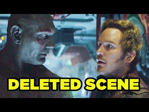 Avengers Infinity War GUARDIANS Deleted Scene EXPLAINED!