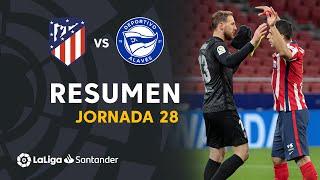 Resumen de Atlético de Madrid vs Deportivo Alavés (1-0)