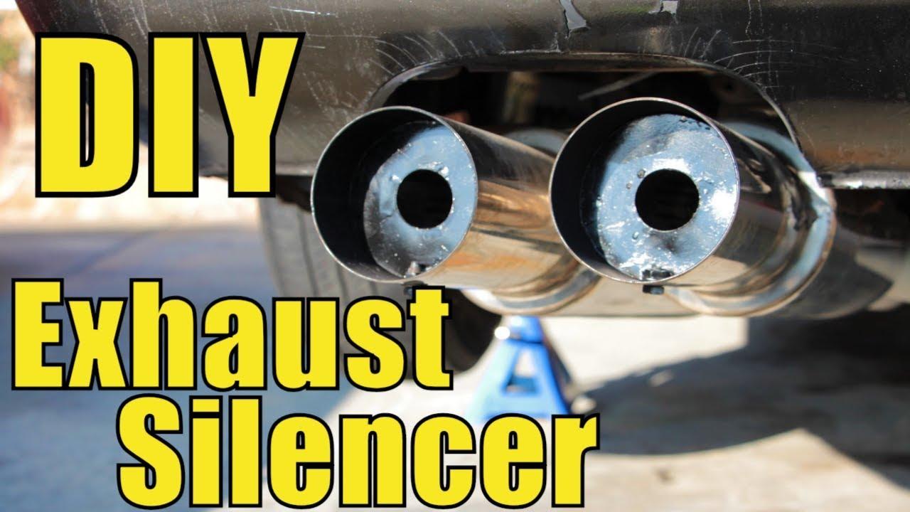 diy exhaust silencer