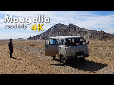 [4K] Mongolia | Road Trip | 2017 | Sony FDR-x3000