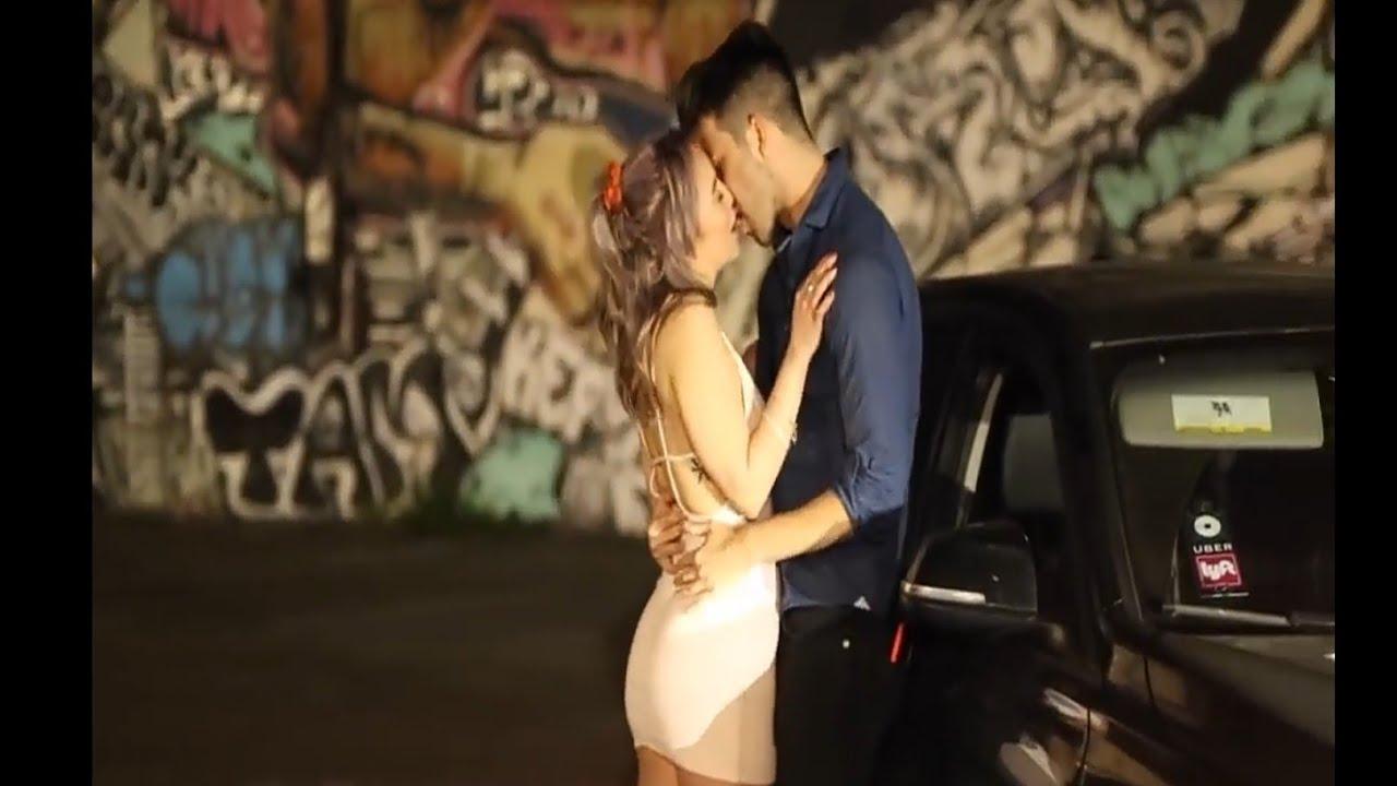 Kissing Prank Uber