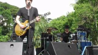 Ash Blacklisted rehearsal Singapore concert