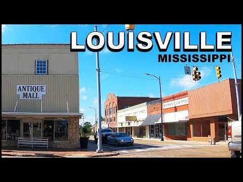 Louisville Mississippi Downtown Tour