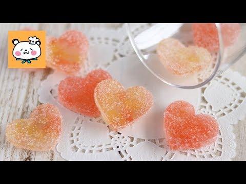 食べられる宝石甘酸っぱいりんごの琥珀糖 Apple Kohakuto|HidaMari Cooking
