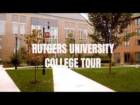 Rutgers University CAMPUS TOUR 2018 : COLLEGE TOURS