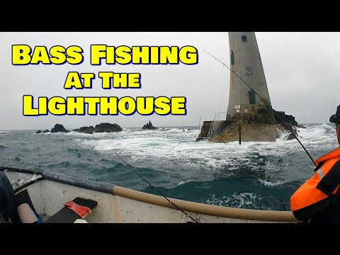Bass Fishing At The Lighthouse