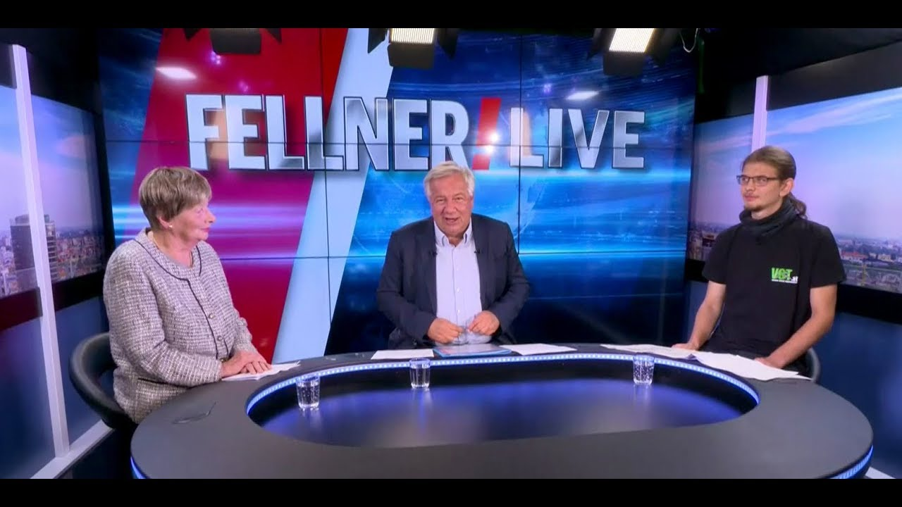 Fellner Live Ursula Stenzel Vs Georg Prinz Youtube