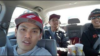 Visiting Fontana Speedway -  Đi Tham Quan Trường Đua Drag tại Cali (Vlog 20)