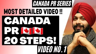 STEP BY STEP CANADA PR Process | Express Entry 2019 | CANADA PR PROCESS | CANADA IMMIGRATION | VISA