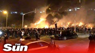 Israel rioting -  Netanyahu calls state of emergency in Lod as conflict intensifies