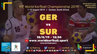 IKF WKC 2019 GER-SUR