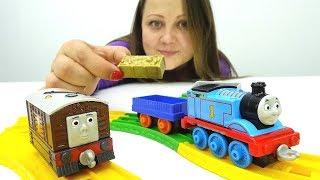 Игры для мальчиков - Мультики про паровозики - Железная дорога