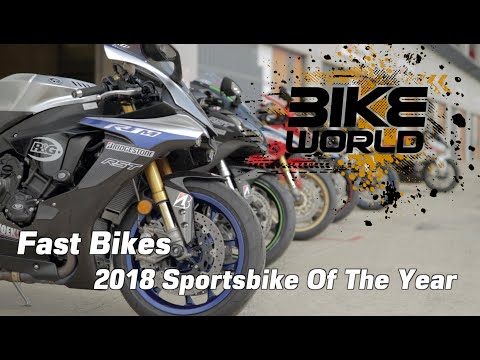 Fast Bikes Sportsbike of 2018 shootout