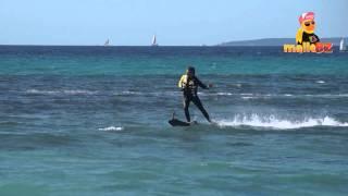 Jetsurf auf Mallorca - Surfboard mit Jet Antrieb