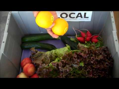 Seattle's local organic produce box - JULY 5th
