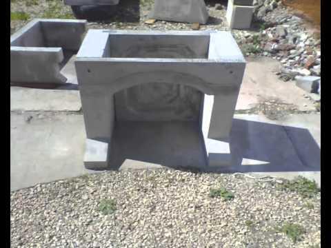 Производство барбекю из бетона камины электрические цена челябинск