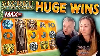 Secret of the Stones MAX Bonus Compilation SUPER BIG WINS!!