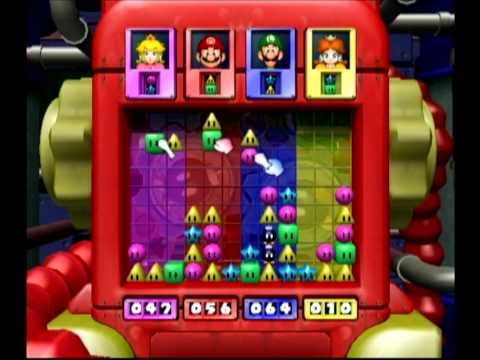 Mario Party 4: 4 Player Minigame - Bob-omb Breakers