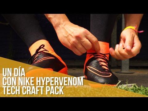 Un Día Con Hypervenom Tech Craft