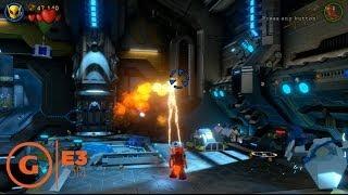 Lego Batman 3: Beyond Gotham - E3 2014 Character Gameplay